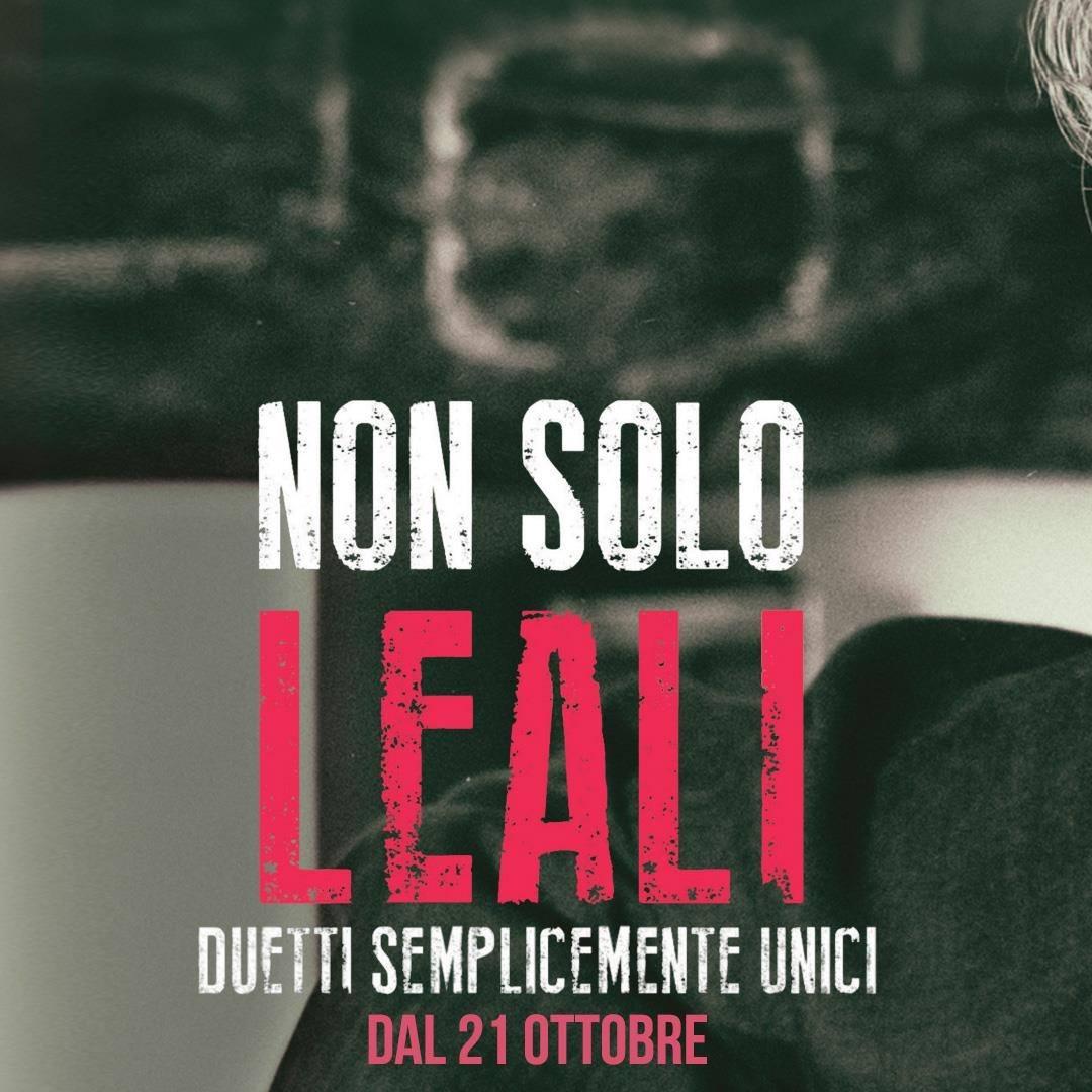 """Fausto Leali <BR>  """"Non solo Leali"""" è molto di più di A chi mi dice"""