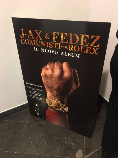A casa di FEDEZ per la presentazione di Comunisti col rolex <BR> Con il socio J-Ax