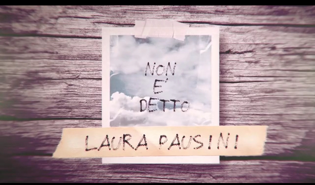 Laura Pausini: NON È DETTO <BR> Ballata raffinata dal tocco internazionale