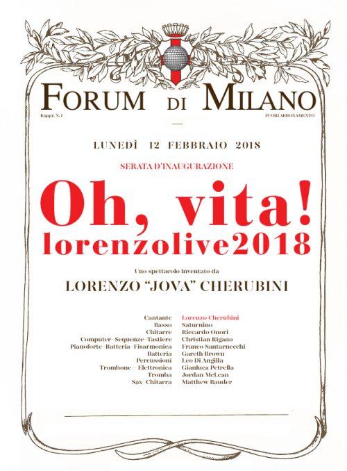 Lorenzo Live 2018: <br> Un'esplosione di endorfine e libertà