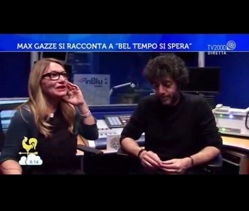 MAX GAZZE' <br> La mia intervista su TV2000
