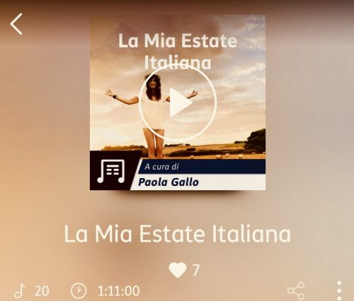 LA MIA ESTATE ITALIANA: <br> Playlist con un po' di tormento(ni)