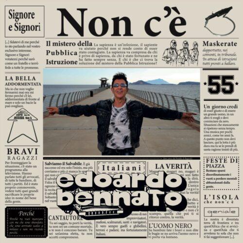 EDOARDO BENNATO pubblica NON C'E': pensiero punk in un disco da antologia