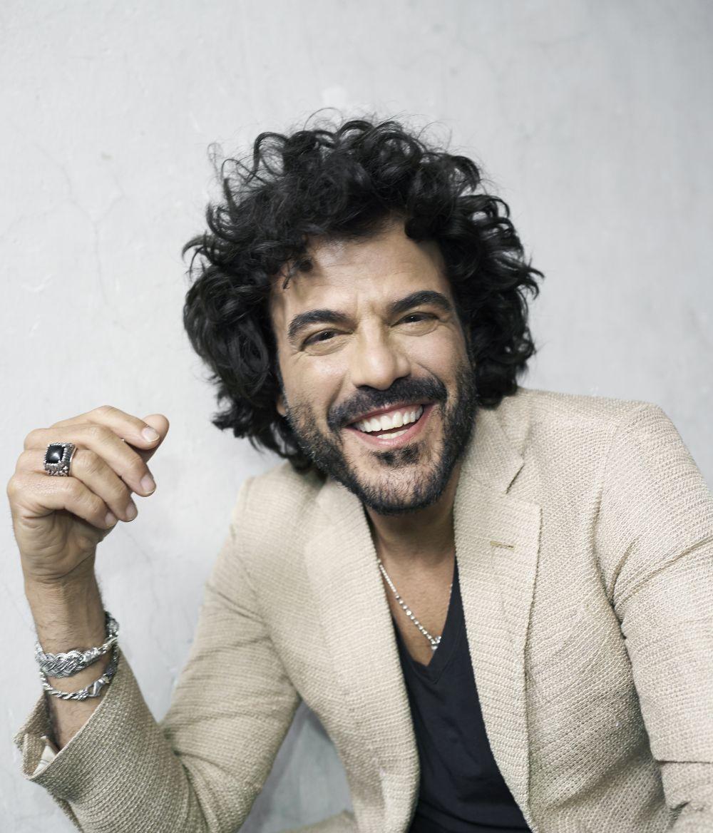 Francesco Renga a Sanremo per ricominciare <br> Video intervista #SanremoFunky