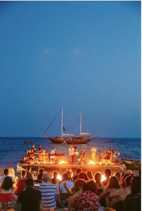 PORTO RUBINO: la magia di un viaggio musicale in mare